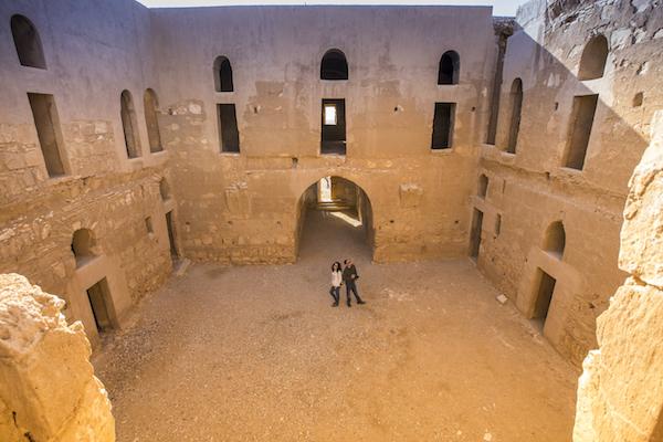 Interior Castillo de Qasr al Kharana