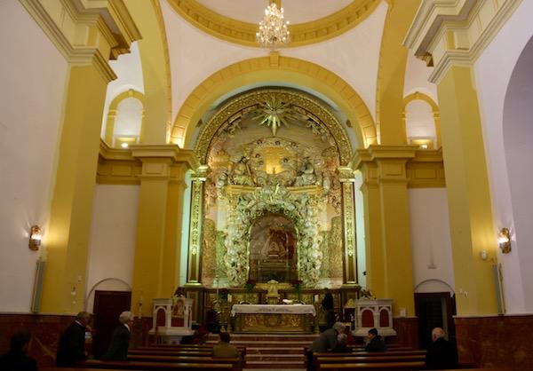 Altar Santuario Señora de la Cabeza