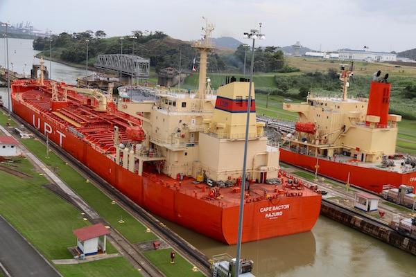 Canal de Panamá Barcos