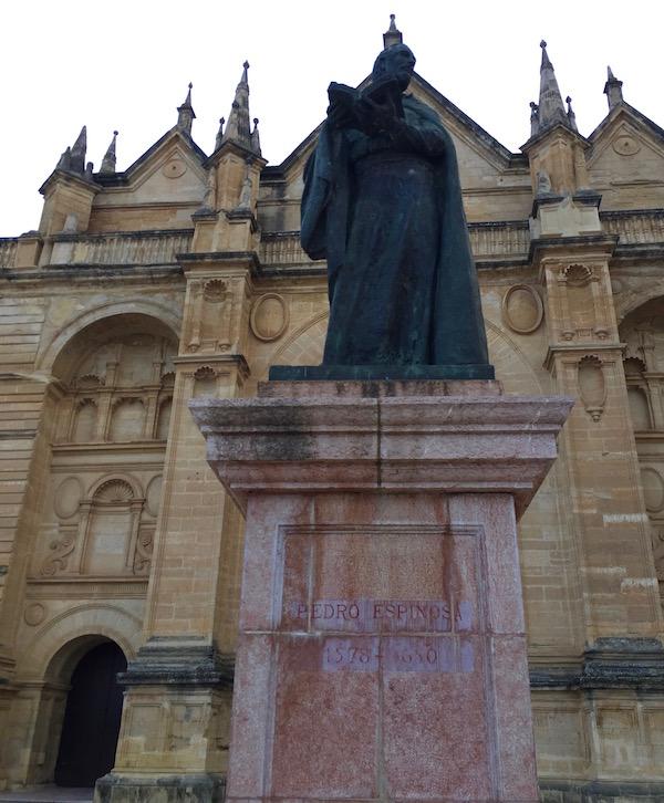 Estatua Pedro Espinosa