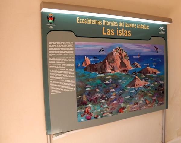 Panel Sala Ecosistema Castillo San Juan De Los Terreros