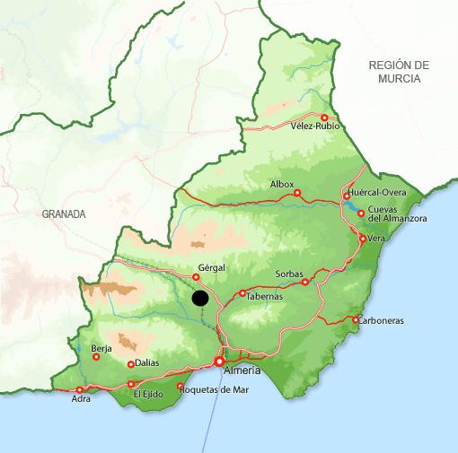 Mapa Alboloduy