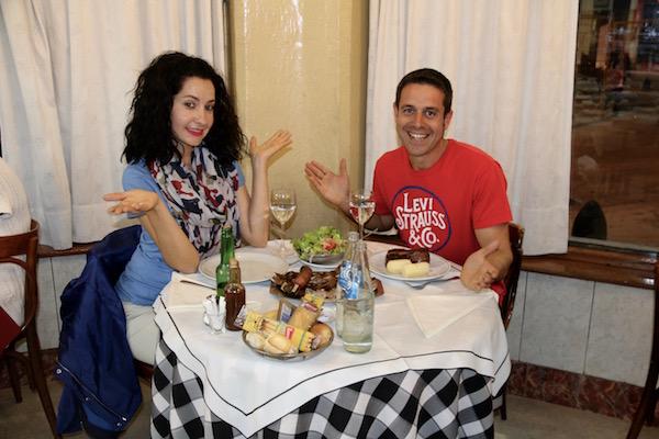 Cena en El Establo
