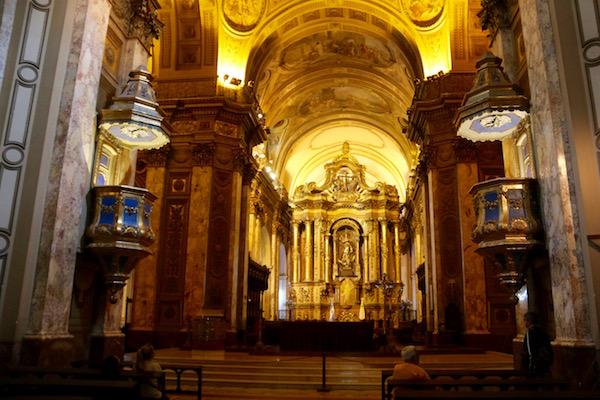 Interior Catedral Metropolitana
