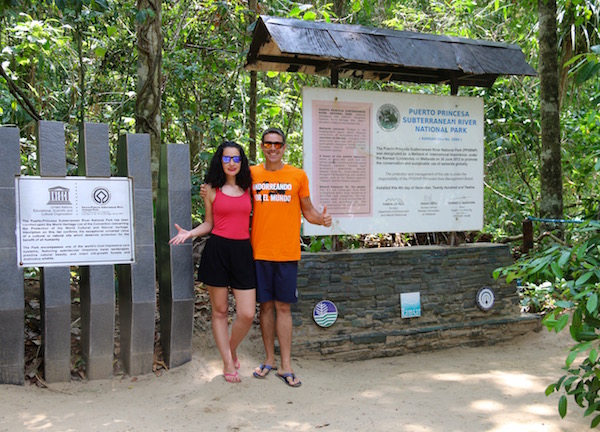 Entrada Parque Río Subterráneo Puerto Princesa