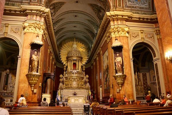 Interior Catedral Basílica Salta