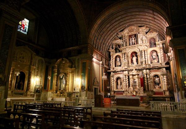 Interior Iglesia Compañía Jesús