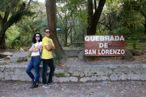 La Quebrada San Lorenzo