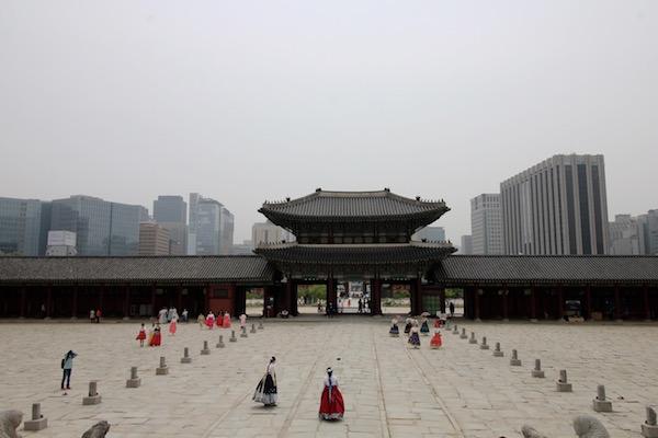 Vistas Palacio Gyeongbokgung