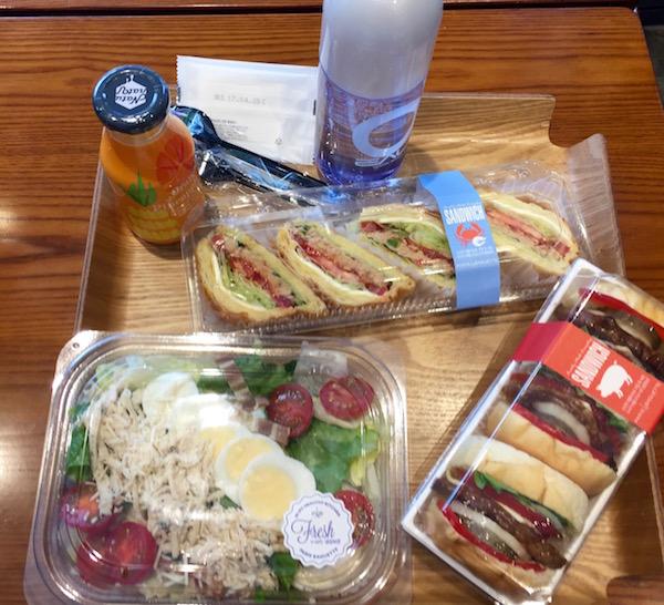 Almuerzo Paris Baguette