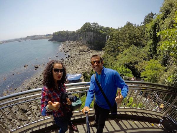 Balcón Cascada Jeongbang