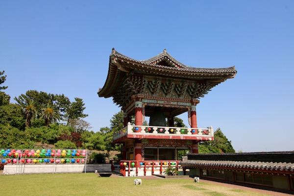 Campana Templo Yakcheon