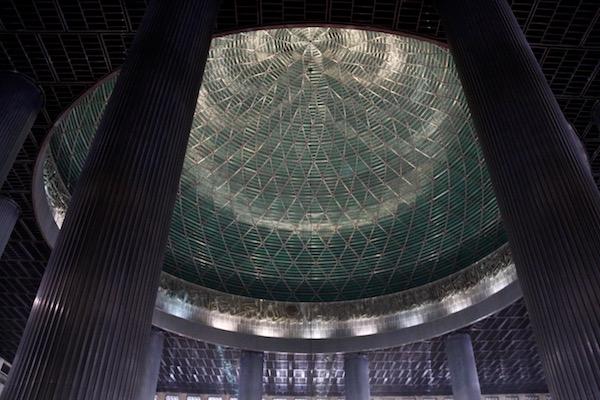 Cúpula mezquita Istiqlal