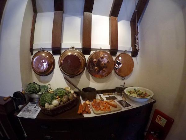 Cocina Castillo Eilean Donan