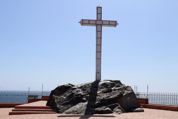 Cruz, Peñón Santo