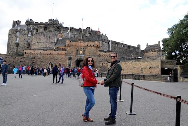 Entrada Castillo Edimburgo