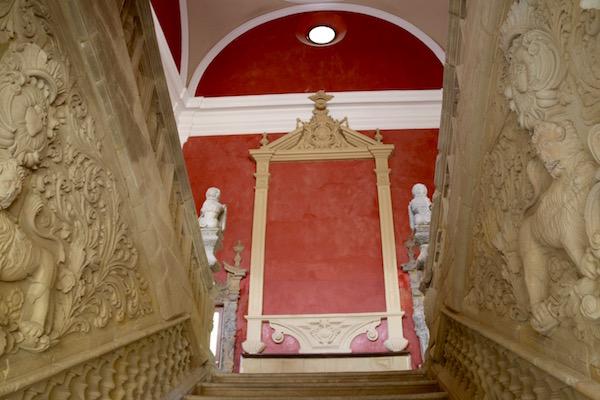 Escalera Palacio de Jabalquinto