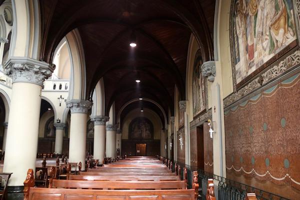 Interior Catedral Asunción