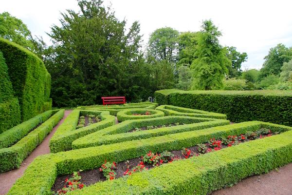 Jardín Amurallado castillo de Cawdor
