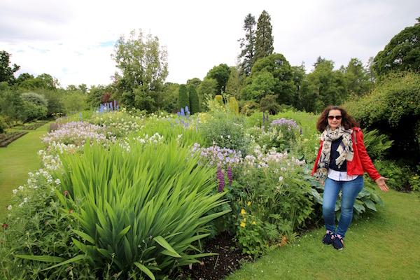 Jardín castillo de Cawdor