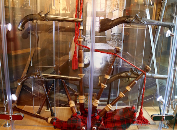 Objetos castillo de Eilean Donan