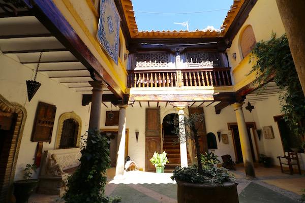 Patio Casa Palaciego Granada Venegas