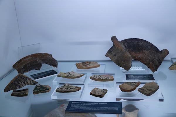 restos ceramica