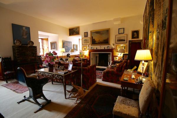 Salón castillo de Cawdor