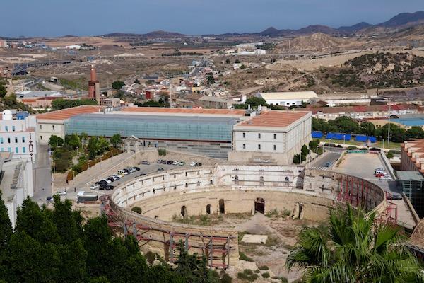 Vistas Anfiteatro, antigua plaza toros