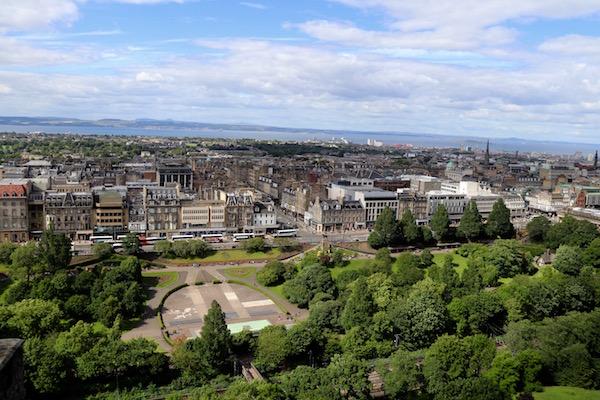 Vistas Panorámicas Edimburgo
