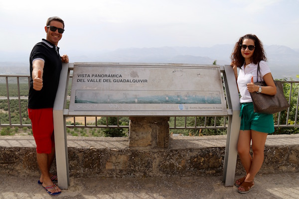 Vistas panorámicas Valle del Guadalquivir
