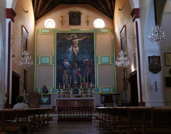 Capilla Mayor iglesia Santo Domingo