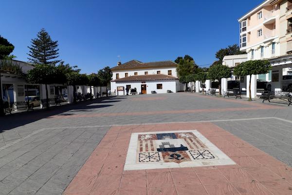 La plaza de la Alpujarra