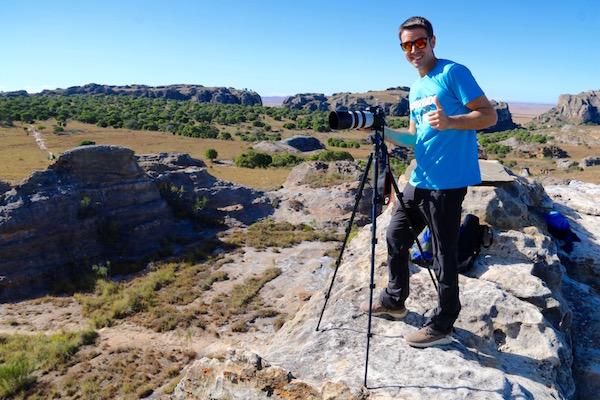 Mirador del cañón Isalo