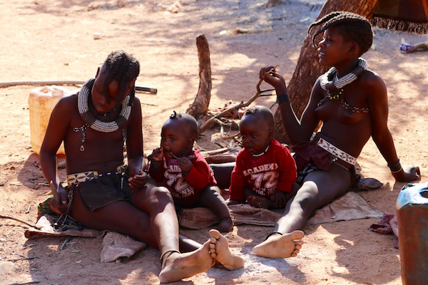 Niñas Tribu Himba