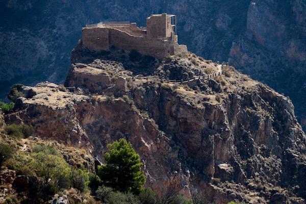 Vistas Castillo Árabe.