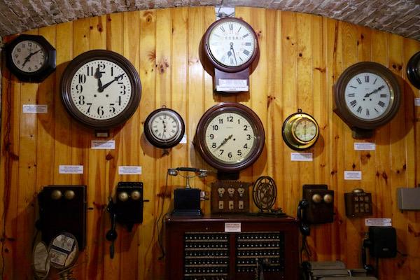 Museo Ferrocarril Relojes