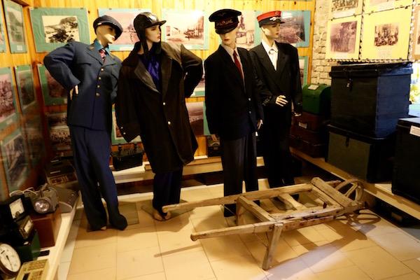 Uniformes Museo Ferrocarril