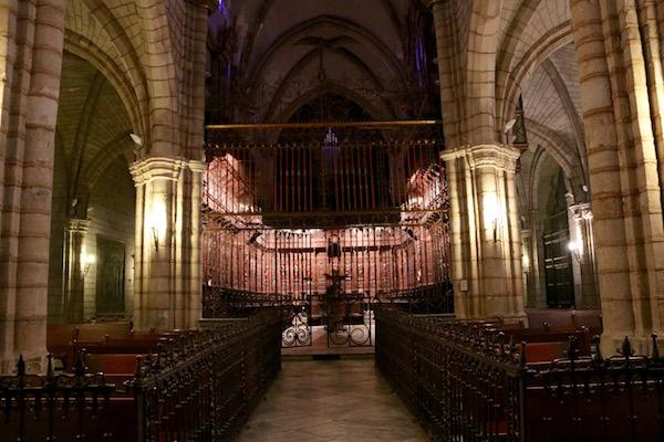 Interior Santa Iglesia Catedral
