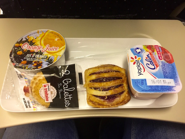 Desayuno Avión