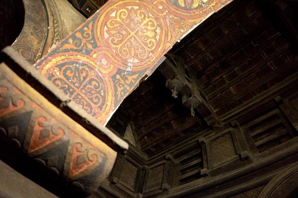 Detalles iglesia Yemrehanna Kristos