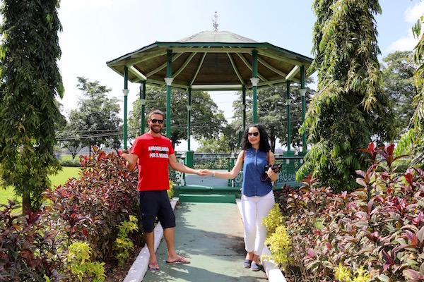 Kiosco Jardín Botánico Tropical