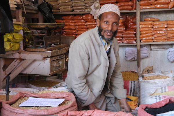 Vendedor mercado Mercato