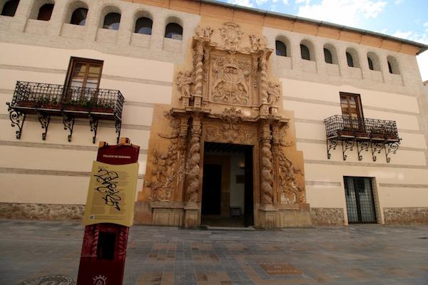 Fachada Palacio Guevara
