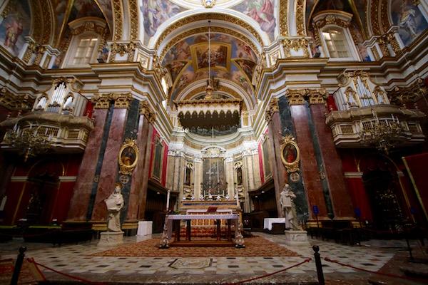 Interior Catedral San Pablo