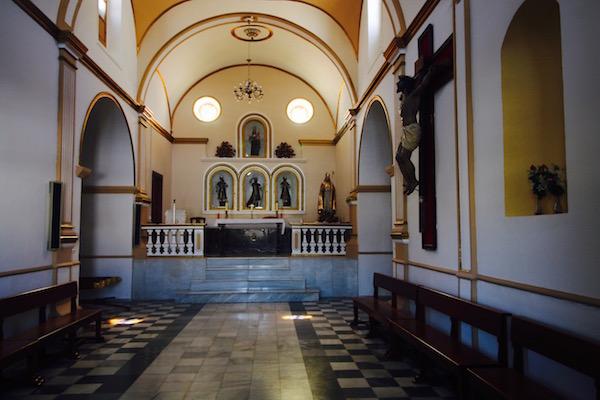 Interior Ermita Santos Mártires