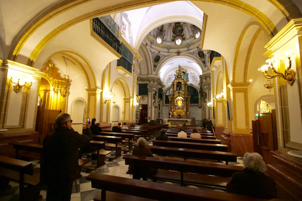 Interior Iglesia Santa Clara