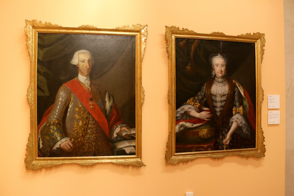 Joaquin Inza (Retrato Carlos III y Amalia Sajonia