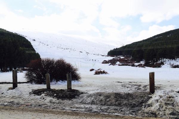 Nieve Puerto de la Ragua