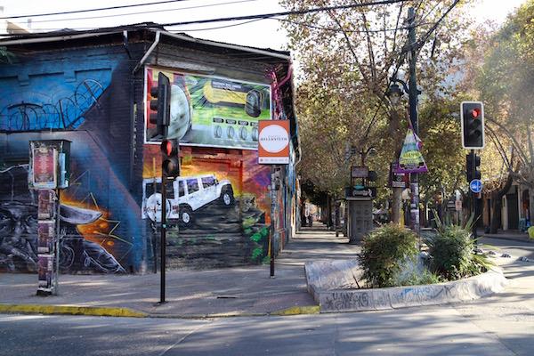 Barrio Bellavista, Chile.